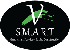V S.M.A.R.T. logo and link to Home